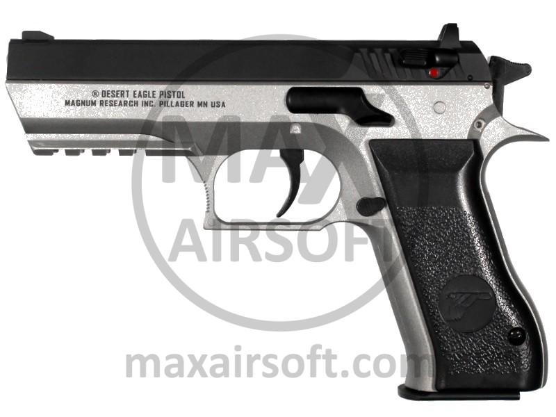 Kwc Cyb Baby Desert Eagle Co2 Pistol Dual Tone Co2 Nbb Maxairsoft